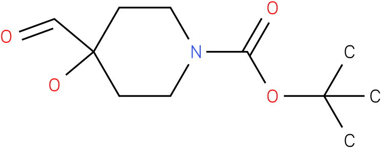 1-Boc-4-hydroxy-4-formyl-piperidine