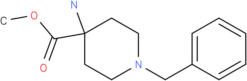 Methyl 4-amino-1-benzyl-piperidine-4-carboxylate