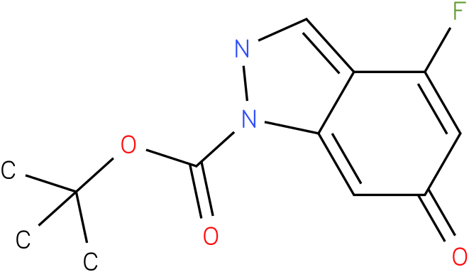 Tert-butyl 4-fluoro-6-hydroxy-1H-indazole-1-carboxylate