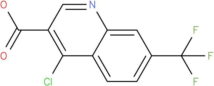 4-chloro-7-(trifluoromethyl)quinoline-3-carboxylic acid