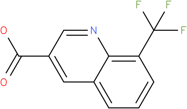 8-(trifluoromethyl)quinoline-3-carboxylic acid