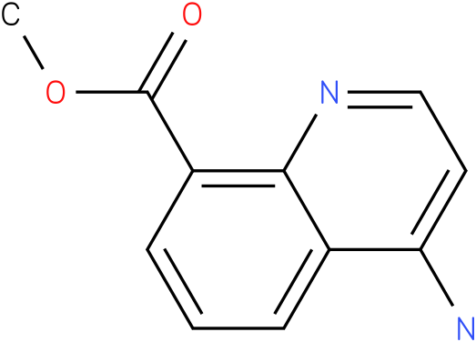 methyl 4-aminoquinoline-8-carboxylate