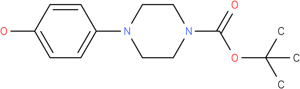 1-(4-hydroxy-phenyl)-piperazine-4-carboxylic acid tert-butyl ester