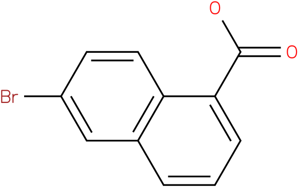 6-bromonaphthalene-1-carboxylic acid