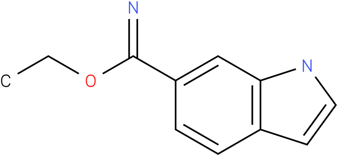1h-indole-6-carboximidic acid ethyl ester
