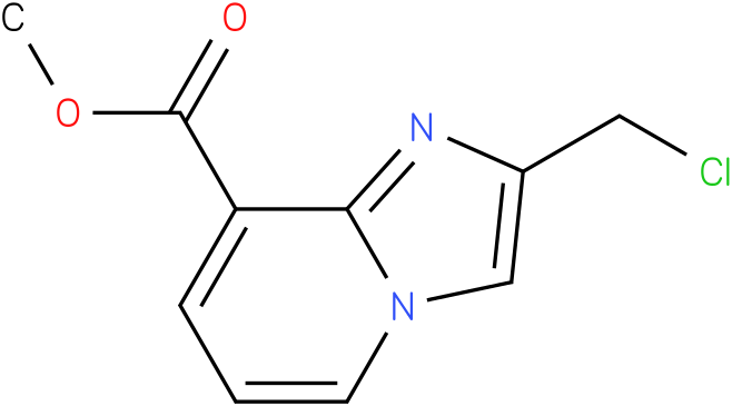 methyl 2-(chloromethyl)H-imidazo[1,2-a]pyridine-8-carboxylate