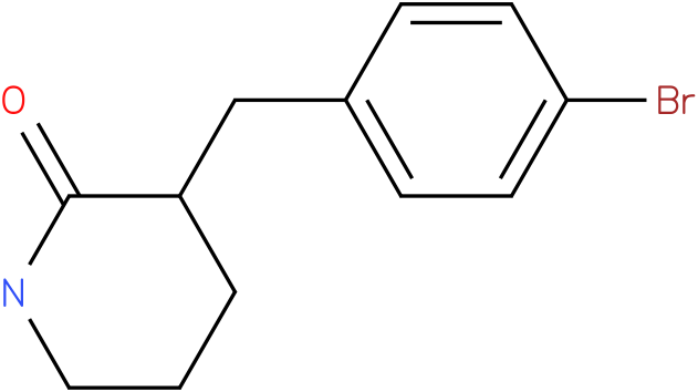 3-(4-bromobenzyl)piperidin-2-one