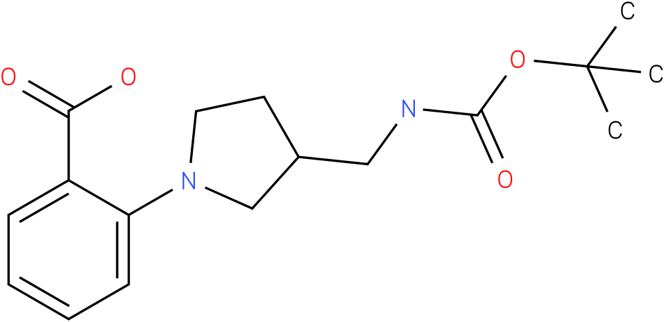 [1-(2-carboxy-phenyl)-pyrrolidin-3-ylmethyl]-carbamic acid tert-butyl ester