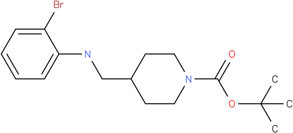 1-Boc-4-[(2-Bromo-phenylamino)-methyl]-piperidine