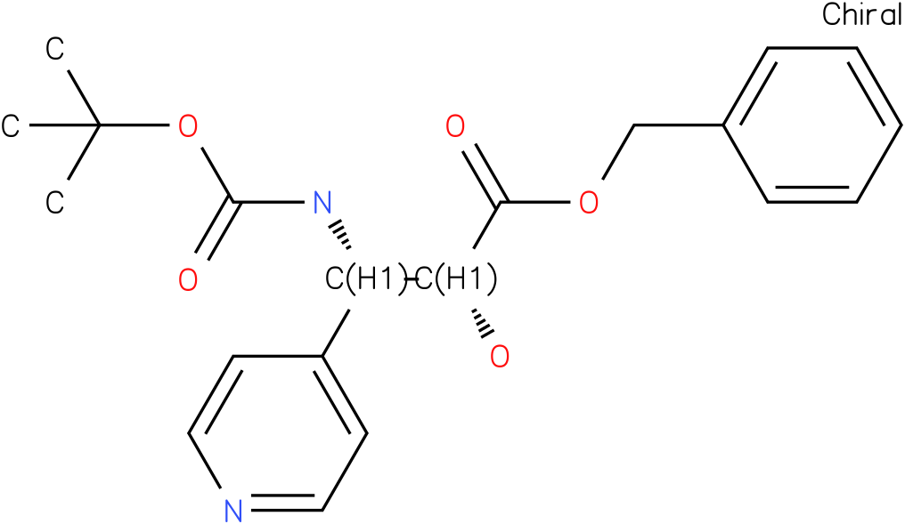 tert-butyl (1S,2R)-2-((benzyloxy)carbonyl)-2-hydroxy-1-(pyridin-4-yl)ethylcarbamate