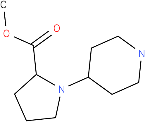 1-piperidin-4-yl-pyrrolidine-2-carboxylic acid methyl ester