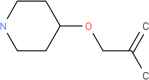 4-(2-methylallyloxy)piperidine