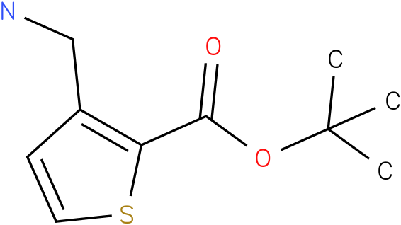 3-Aminomethyl-thiophene-2-carboxylic acid tert-butyl ester