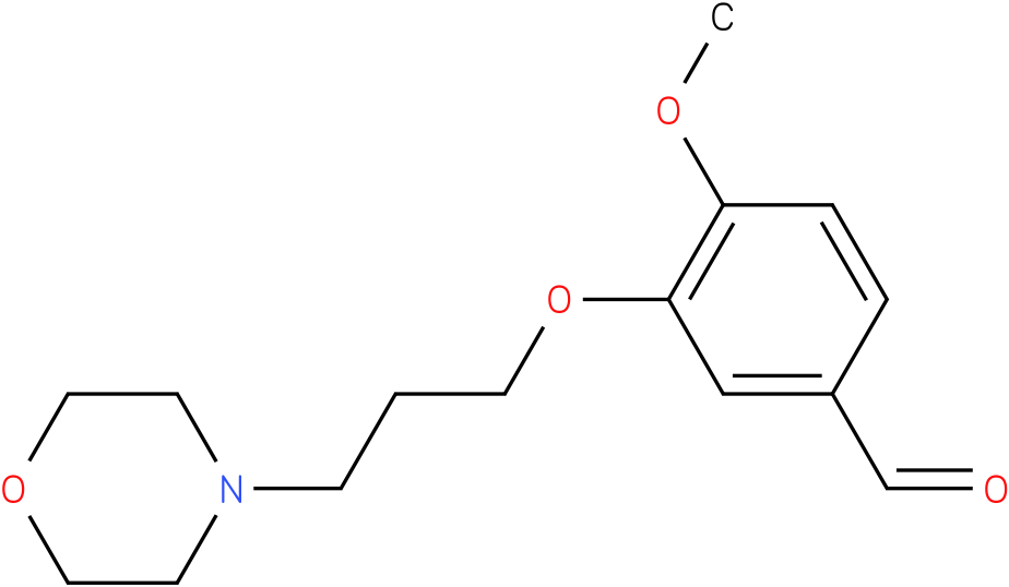 4-methoxy-3- (3-morpholinopropoxy) benzaldehyde