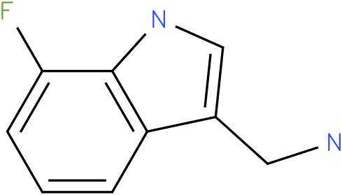 7-fluoro-1H-indol-3-methylamine