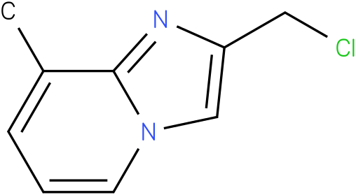 2-(chloromethyl)-8-methylH-imidazo[1,2-a]pyridine
