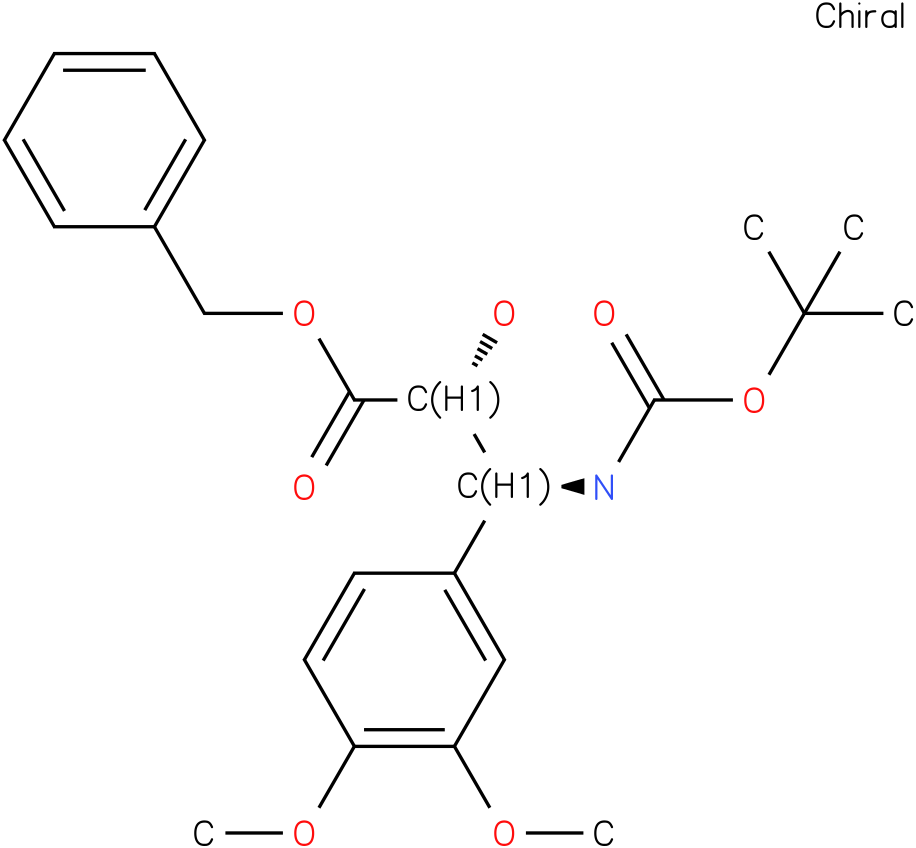 tert-butyl (1S,2R)-2-((benzyloxy)carbonyl)-2-hydroxy-1-(3,4-dimethoxyphenyl)ethylcarbamate