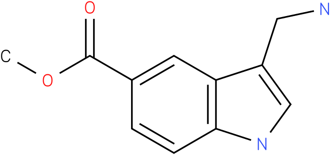 3-aminomethyl-1H-indole-5-carboxylic acid methyl ester