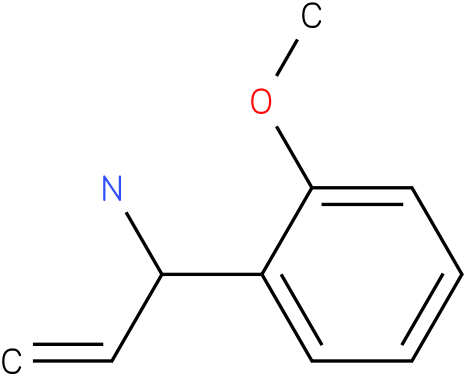 1-(2-methoxyphenyl)prop-2-en-1-amine