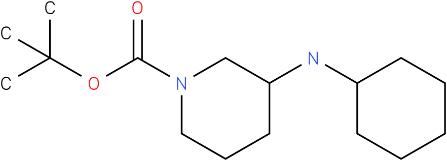 1-Boc-3-Cyclohexylamino-piperidine