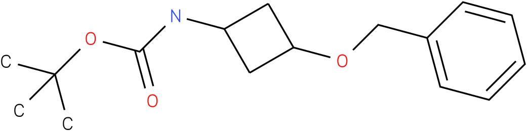 tert-butyl 3-(benzyloxy)cyclobutylcarbamate