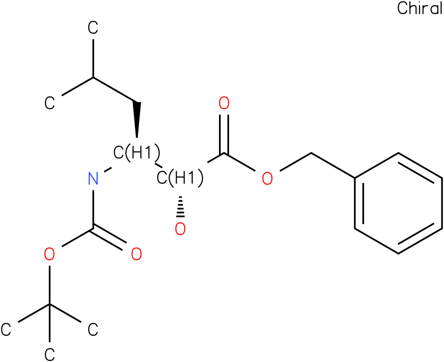 tert-butyl (1R,2S)-1-((benzyloxy)carbonyl)-1-hydroxy-4-methylpentan-2-ylcarbamate