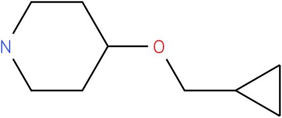 4-(cyclopropylmethoxy)piperidine