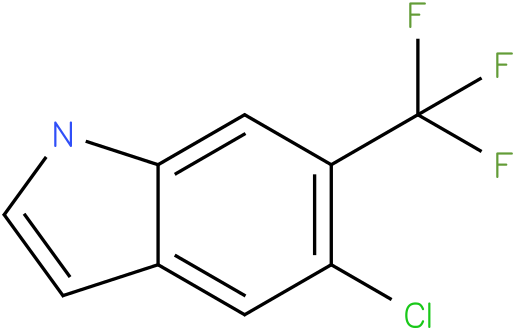 5-chloro-6-(trifluoromethyl)-1H-indole