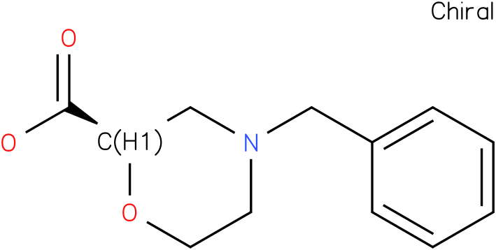 (R)-4-benzylmorpholine-2-carboxylic acid