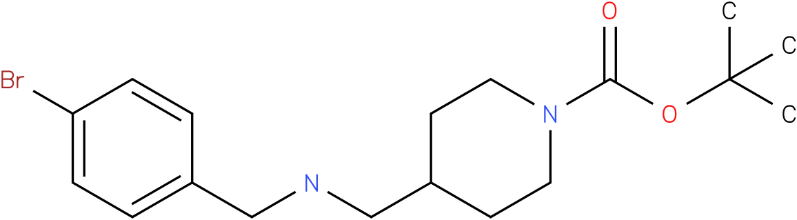 1-Boc-4-[(4-Bromo-benzylamino)-methyl]-piperidine