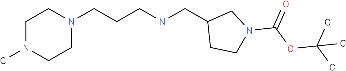 1-Boc-3-{[(4-Methyl-piperazin-1-ylpropyl)-amino]-methyl}-pyrrolidine