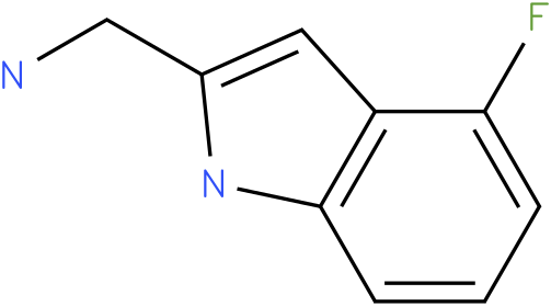 4-fluoro-1H-indol--methylamine