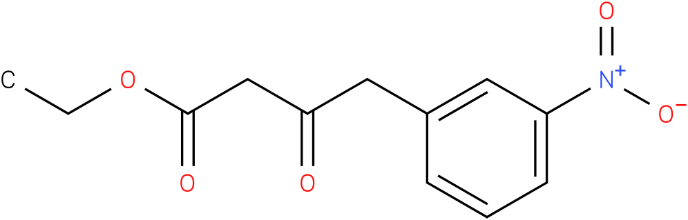4-(3-nitro-phenyl)-3-oxo-butyric acid ethyl ester