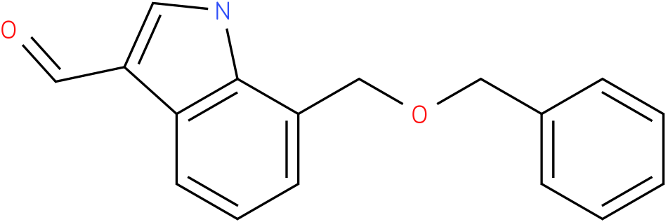 7-benzyloxymethyl-1H-indole-3-carbaldehyde