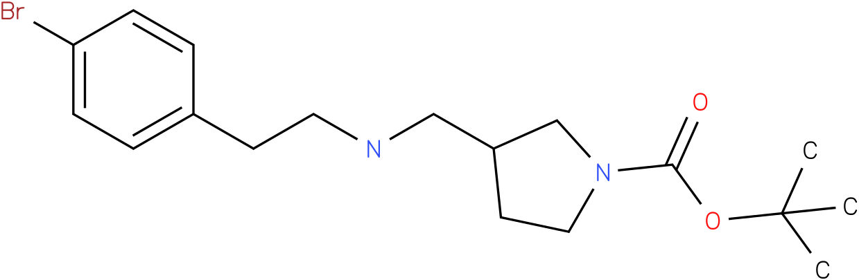 1-Boc-3-{[2-(4-Bromo-phenyl)-ethylamino]-methyl}-pyrrolidine