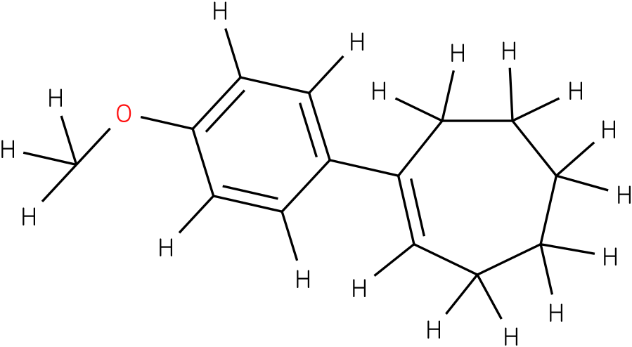 (E)-1-(4-methoxyphenyl)cyclohept-1-ene