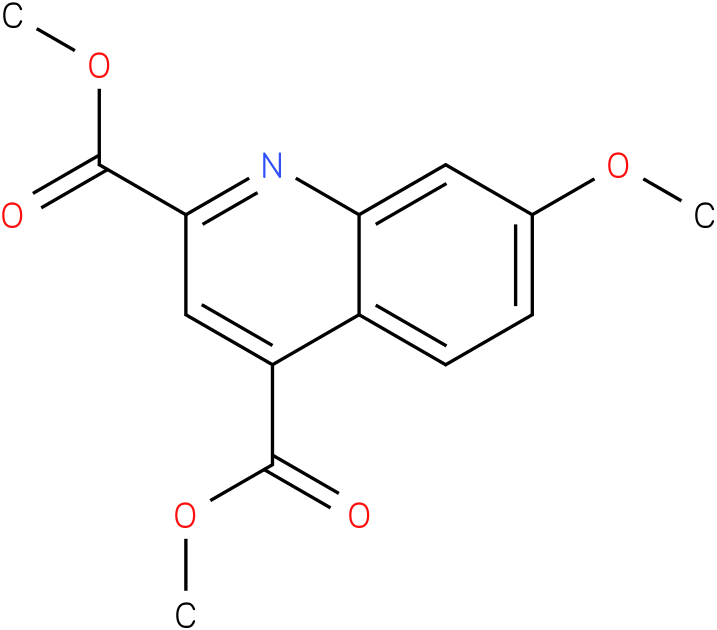 dimethyl 7-methoxyquinoline-2,4-dicarboxylate