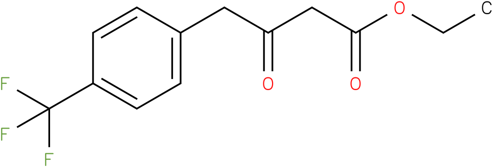 ethyl 4-(4-(trifluoromethyl)phenyl)-3-oxobutanoate