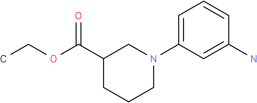 1-(3-amino-phenyl)-piperidine-3-carboxylic acid ethyl ester