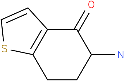5-amino-6,7-dihydro-5H-benzo[b]thiophen-4-one