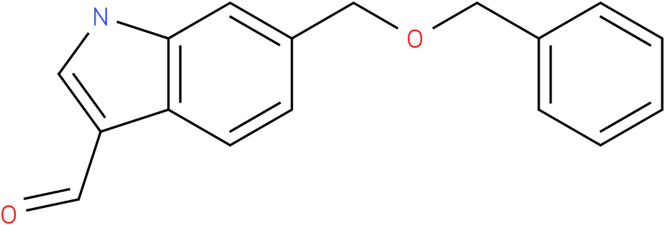 6-benzyloxymethyl-1H-indole-3-carbaldehyde