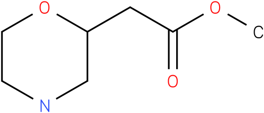 morpholin-2-yl-acetic acid methyl ester