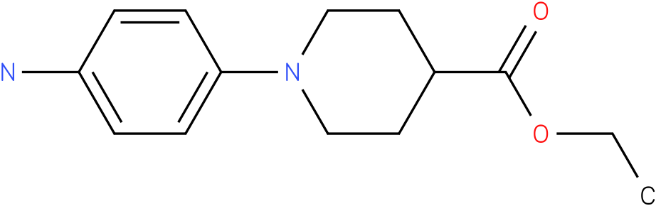 [1-(4-amino-phenyl)-piperidine-4-carboxylic acid ethyl ester