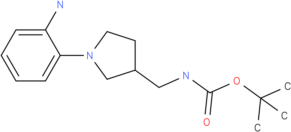 [1-(2-amino-phenyl)-pyrrolidin-3-ylmethyl]-carbamic acid tert-butyl ester