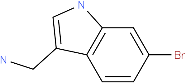 6-bromo-1H-indol-3-methylamine