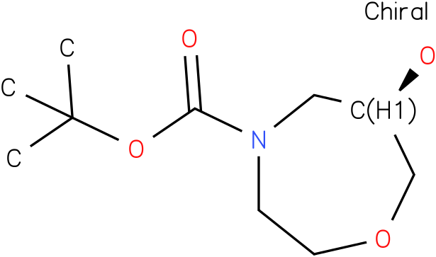 (R)-tert-butyl 6-hydroxy-1,4-oxazepane-4-carboxylate