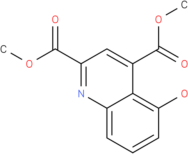 dimethyl 5-hydroxyquinoline-2,4-dicarboxylate