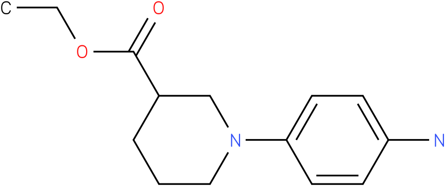 1-(4-amino-phenyl)-piperidine-3-carboxylic acid ethyl ester