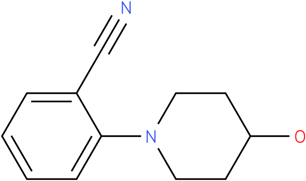 2-(4-hydroxy-piperidin-1-yl)-benzonitrile