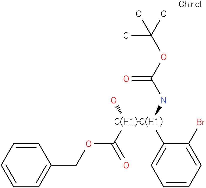 tert-butyl (1S,2R)-2-((benzyloxy)carbonyl)-1-(2-bromophenyl)-2-hydroxyethylcarbamate